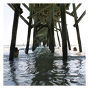 daytona beach florida pier photograph thumbnail.