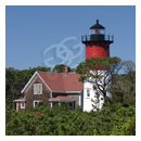 nauset lighthouse cape cod national seashore photograph thumbnail.